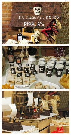 Rustic pirate party