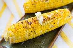 Magical Oven Roasted Corn! I would cut the cooking time in half, use chili powder instead of cayenne, and squeeze lime over it.