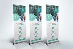 Medical Roll Up Banner by UNIK Agency on Creative Market - Graphic Templates Search Engine