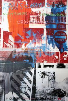 View Night Shades Urban Bourbons by Robert Rauschenberg on artnet. Browse more artworks Robert Rauschenberg from ArtWise. Robert Rauschenberg, Collage Kunst, Collage Art, Cultura Pop, Pop Art Movement, Original Vintage, Edward Hopper, Joan Mitchell, David Hockney