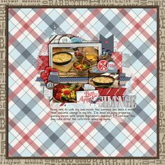 Change Credits: Good Eats by Lauren Grier & Penny Springmann Template from Set 175 by Cindy Schneider (reduced size)  digital scrapbooking, layout, food, hobby  This layout was created for the Sweet Shoppe Summer Shadowbox contest - come join the digital scrapbooking fun at SweetShoppeDesigns.com!