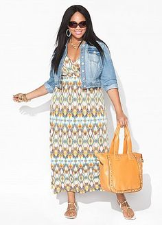 Ashley Stewart. I love her clothes. =)