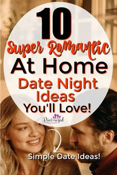 Spark that fire, no babysitter or big budget needed. You can intentionally work on your marriage with these super fun but simple at home date night ideas. Refresh things after a long week with this list of sweet ideas for date night.