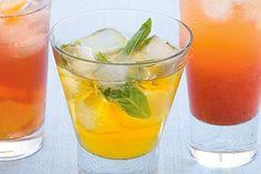 Iced Apple And Mint Tea Recipe - Taste.com.au