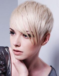30 Short Hairstyles for Women: Layered Crop Hairstyle