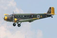 Junkers Ju-52 #Luftwaffe #Wehrmacht