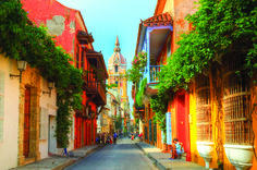 Cartagena de Indias city guide: How to spend a weekend on Colombia's Caribbean coast - aBestFamily South America Destinations, South America Travel, Travel Destinations, Colombia Travel, Colourful Buildings, Colonial Architecture, Cuban Architecture, Walled City, Modern City