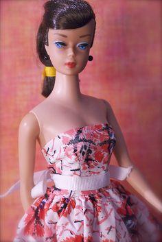 Vintage Barbie - Swirl Ponytail Barbie - Brunette
