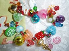 Christmas Bracelet by BeadieBracelet on Etsy, $16.00