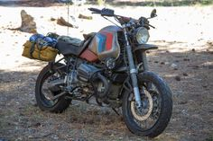 BMW R1150GS Custom - Front Right