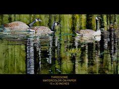 Watercolor - © Richard Bélanger SCA AWS