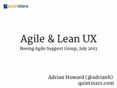 Agile & Lean UX