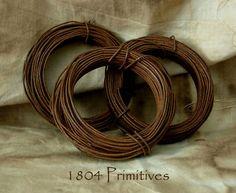 primitive rusty wire