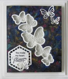 Hi crafters! Today's video shows you what Pixie Powders look like on black card stock! It is a really different look, but oh so pr.... 25/03/2017
