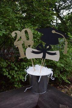 Graduación de 2017 centro de mesa decoraciones de fiesta de