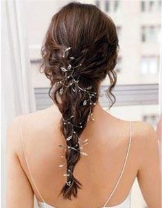 Vintage Wedding Hair Pin - pretty idea for a Grecian style dress.