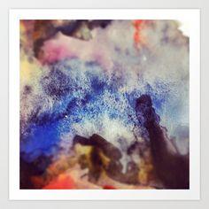 3/3 Art Print by Lucy Claire Nash - $15.60 3 Arts, Claire, Watercolour, Celestial, Art Prints, Artwork, Pen And Wash, Art Impressions, Watercolor Painting