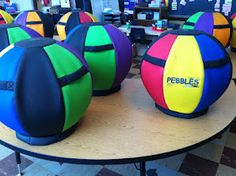 Classroom ball chairs through donors choose!