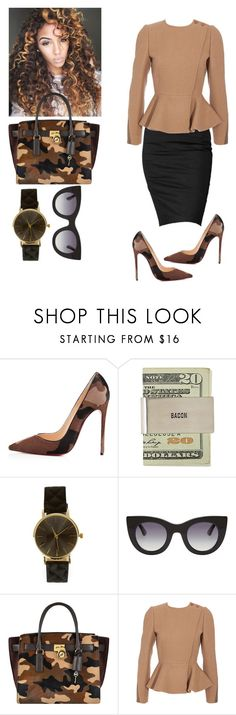 """Untitled #440"" by cogic-fashion ❤ liked on Polyvore featuring Rock & Republic, Christian Louboutin, Thierry Lasry, MICHAEL Michael Kors and STELLA McCARTNEY"