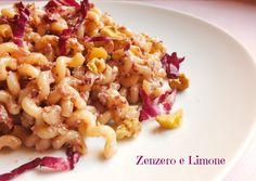 La pasta al radicchio e noci è un primo piatto facile e veloce da preparare…