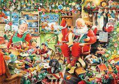 Santa's Final Preparations   Adult Puzzles   2D Puzzles   Shop   US   ravensburger.com
