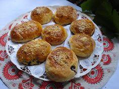 Kulinarne  pyszności  Molki: Bułeczki z  jagodami