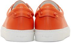 Givenchy Orange Codification Low-Top Sneakers