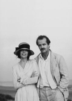 Diane Keaton & Jack Nicholson in 'Reds' (1981), a film by Warren Beatty.