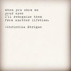#poetry #christinastrigas
