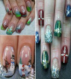 Creative nail design shellac colors Creative nail design shellac Best Easy  Simple Christmas Nail Art designs  Ideas Cute christmas nail designs Christmas nail designs video