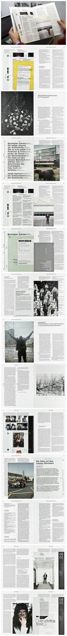 Spielpläne – Jahrbuch der Hochschule der Künste Bern Publikation 24 x 32 cm, 64 Seiten, 2012  http://www.b-und-r.info/buecher/jahrbuch-hochschule-der-kuenste-bern/