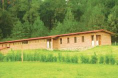 Dhamma Makaranda-Mexico, has a new dormitory that can accommodate 57 students,mostly in single rooms.The present Dhamma Hall can seat about 66 students.