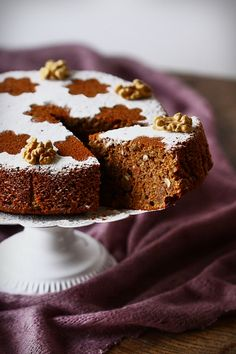Persian Walnut Cake recipe by Cuisine Campagne