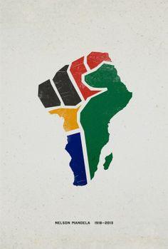 Sean Perez Designed This Powerful Nelson Mandela Tribute Poster