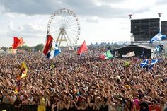 T in the Park festival - Fife, Scotland