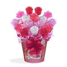Valentine's Day Candy BouquetSiempre Dulces Ramo Piruleta