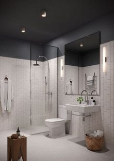 Luxury Bathroom Master Baths Paint Colors is agreed important for your home. Whether you pick the Luxury Master Bathroom Ideas or Luxury Bathroom Master Baths Benjamin Moore, you will create the best Small Bathroom Decorating Ideas for your own life. White Bathroom, Bathroom Interior, Small Bathroom, Bathroom Ideas, Bathroom Remodeling, Master Bathrooms, Remodel Bathroom, Serene Bathroom, Master Baths