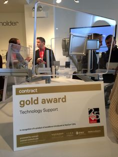 esi ergonomic solutions wins Best of NeoCon award for EGDE monitor arm