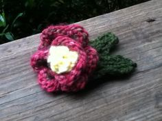 Easy Knitted Flower Pattern