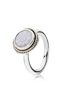 Pandora ring. Never cared for pandora jewelry, but I do like this.