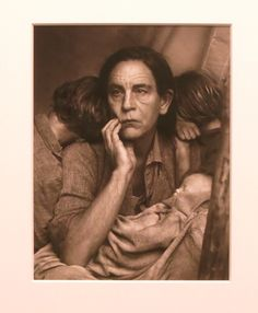 Under the direction of photographer Sandro Miller, actor John Malkovich plays a series of unexpected roles in a recent body of work at Chelsea's Yancey Richardson Gallery. As Warhol's Marilyn, Arthur Sasse's Albert Einstein and here, Dorothea Lange's Migrant Mother, Malkovich's face makes some of art history's most iconic images eerily unfamiliar. (Through July 8th). Sandro Miller, Dorothea Lange/Migrant Mother, Nipomo, California (1936), archival pigment print, 12 x 9 inches, 2014.