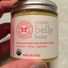 The Honest Company Belly Balm - after 3 pregnancies I can say that this is hands down the best stretch mark cream I have tried (and I tried a lot).