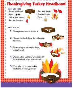 Very cute Thanksgiving craft