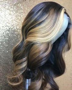 Best Ombre Hair, Brown Ombre Hair, Ombre Hair Color, Curly Hair Styles, Natural Hair Styles, Natural Beauty, Organic Beauty, Ombré Hair, Wave Hair