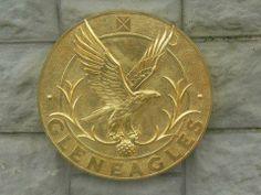 The imfamous Gleneagles Gold Emblem — at Gleneagle Hotel.