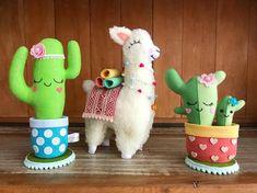Ambrosial Make a Stuffed Animal Ideas. Fantasting Make a Stuffed Animal Ideas. Diy And Crafts, Crafts For Kids, Llama Birthday, Crochet Cactus, Felt Decorations, Sewing Toys, Felt Diy, Stuffed Animal Patterns, Felt Dolls