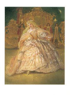 Cinderella/ Assepoester : een sprookje van Grimm/ geïll. door Kinuko Y. Craft ; [vert. uit het Engels door Tjalling Bos]. - [Voorschoten] : Westeinde, 2001. Sign. 5169134