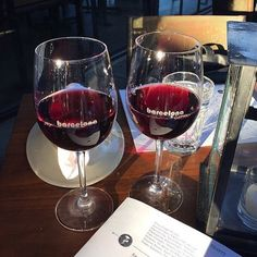 """""""I could be a morning person... If my coffee maker brewed wine instead of coffee."""" - @someecards  #barcelonawinebar #wine #goodmorning (photo courtesy of: @allieb_3)"""