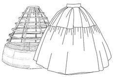 Free Hoop Petticoat Skirt Pattern