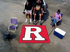 "Tailgater Mat (60""x72"") - Rutgers"